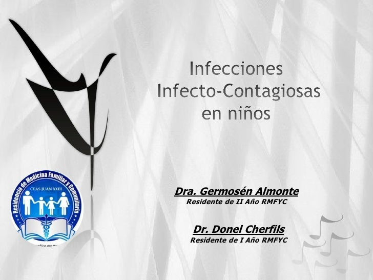 Dra. Germosén Almonte Residente de II Año RMFYC   Dr. Donel Cherfils  Residente de I Año RMFYC