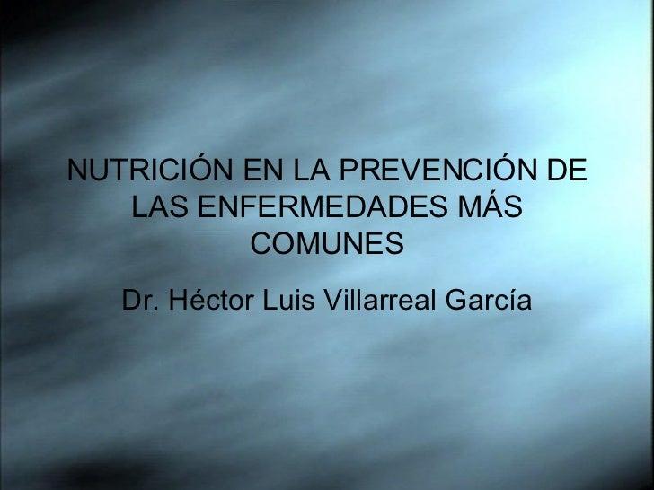 19 Nutricion en la Prevención de las Enfermedades mas comunes