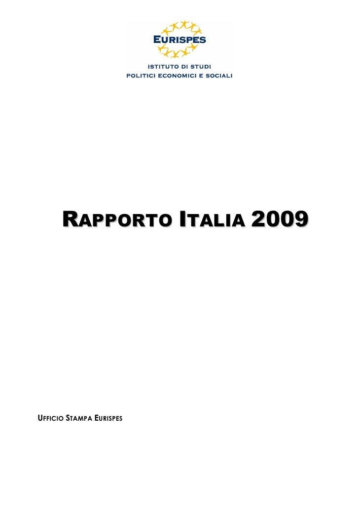Rapporto Italia 2009