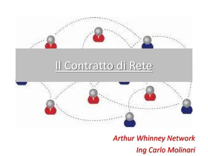 19032012 il contratto di rete