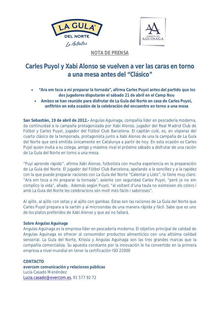 19 04 2012 nota de prensa laguladelnorte_vuelta del clasico