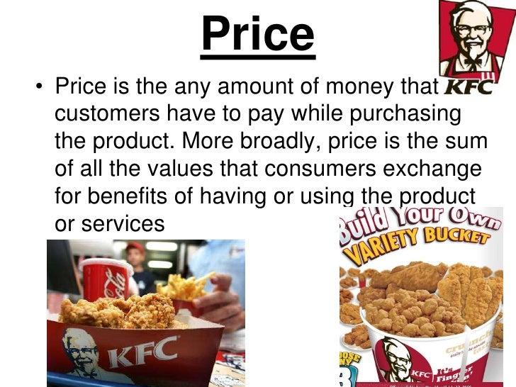 price strategy of kfc