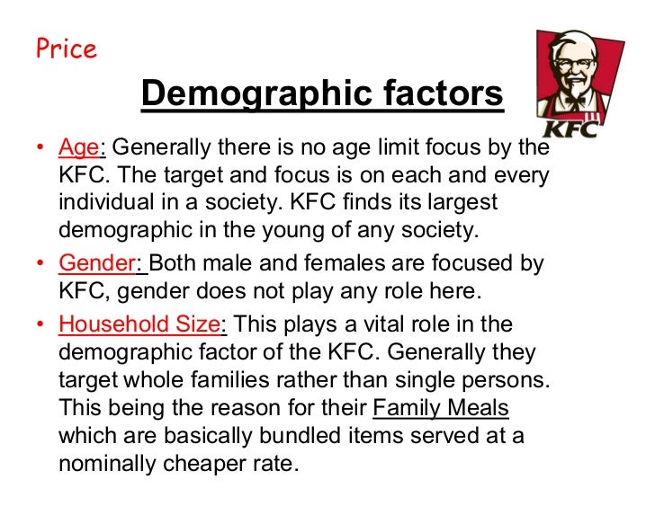 consumer preference towards kfc Fast food facts 2013 13 fast food market definition kfc included string cheese and dairy queen included a dessert beverages had to be purchased separately at panera bread, but we included a beverage in the nutrition analysis for uniformity.