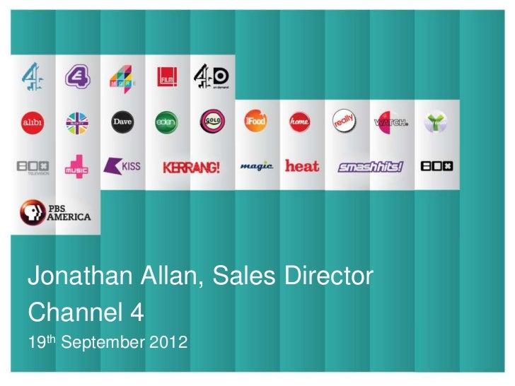 Presentation TitleJonathan Allan,       Sales DirectorSub Title                        Presentation                       ...