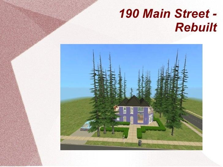 190 Main Street - Rebuilt