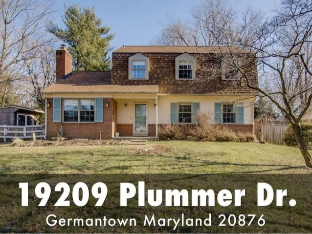 19209 Plummer Drive Germantown Md 20876