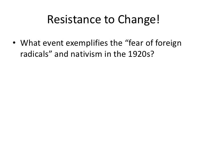 apush nativism Immigration restrictions the high surge in nativism quickly led to the strong immigration restriction legislature starting with the emergency quota act or emergency immigration act of 1921.
