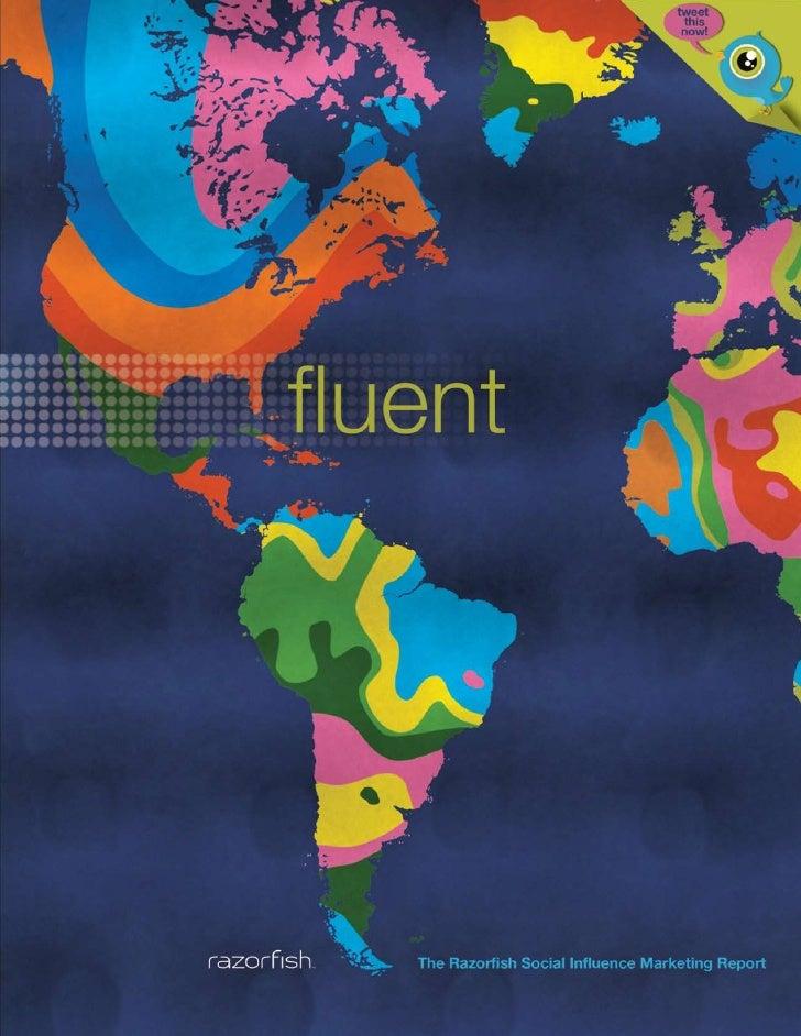 Razorfish - Fluent - The Social Influence Marketing Report