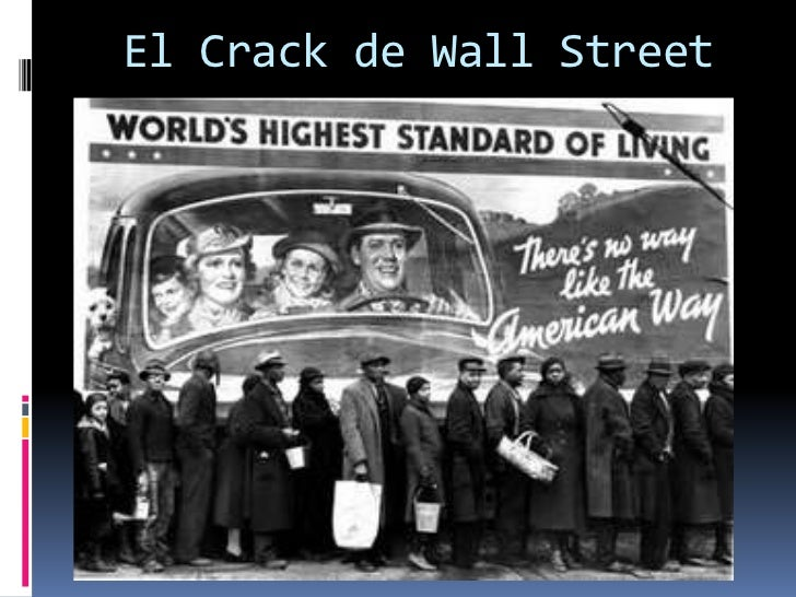 El Crack de Wall Street<br />