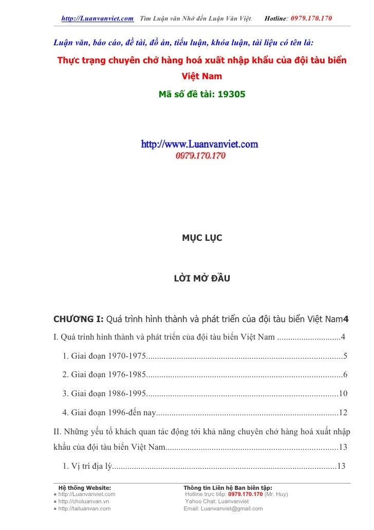 http://Luanvanviet.com Tìm Luận văn Nhớ đến Luận Văn Việt.                           Hotline: 0979.170.170   Luận văn, báo...