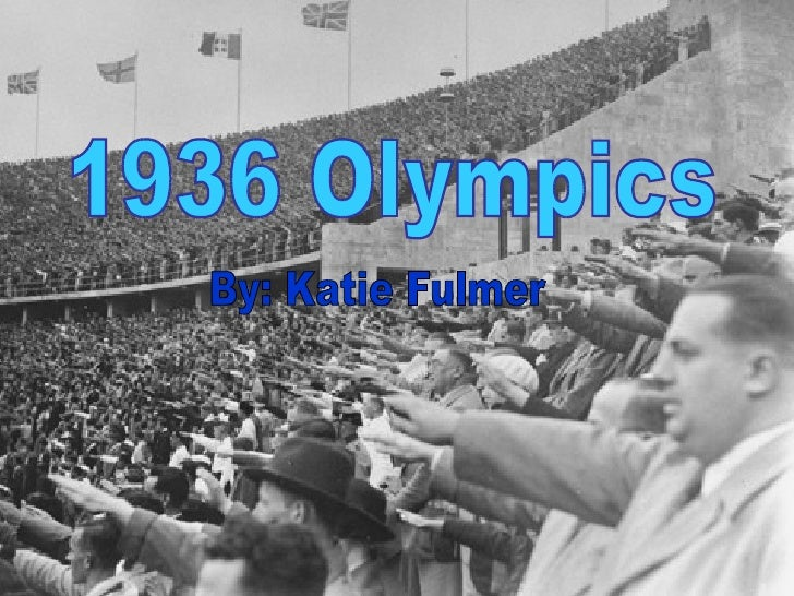 1936 olympics ap world history
