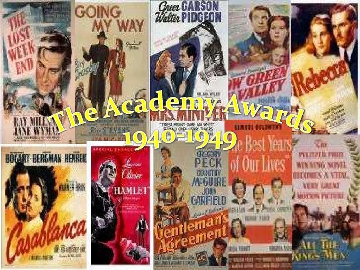The Academy Awards<br />1940-1949<br />