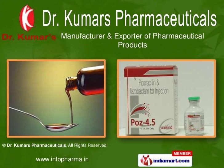 Dr. Kumars Pharmaceuticals Punjab India