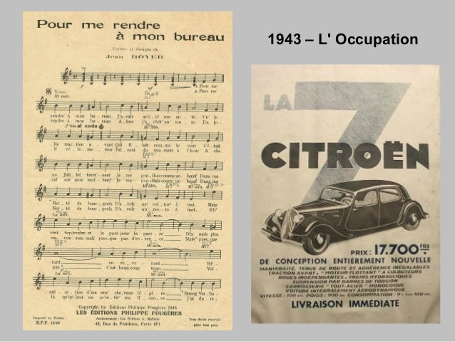 1943 – L' Occupation1943 – L' Occupation