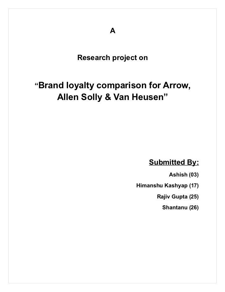 19540711 brand-loyalty-synopsis