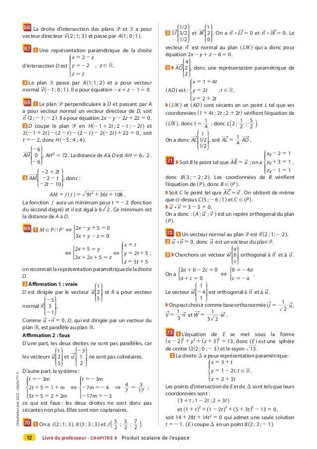 195840620 declic maths tle s specifique 2012 partie 2 pdf for Plan directeur gratuit