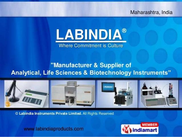 Labindia Instruments Private Limited Maharashtra  India