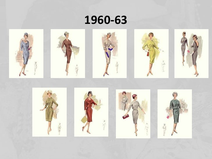 1960 fashion trends