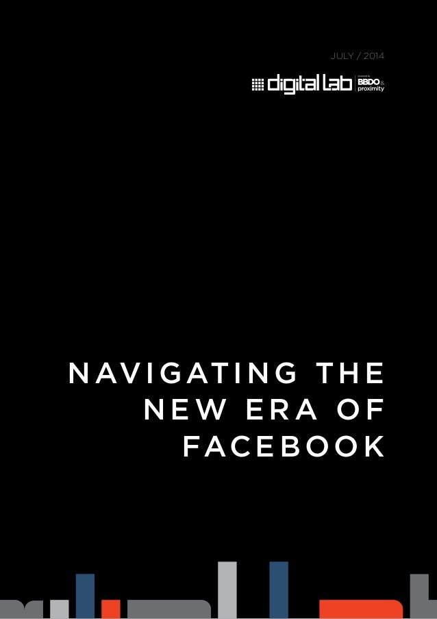 Navigating the New Era of Facebook