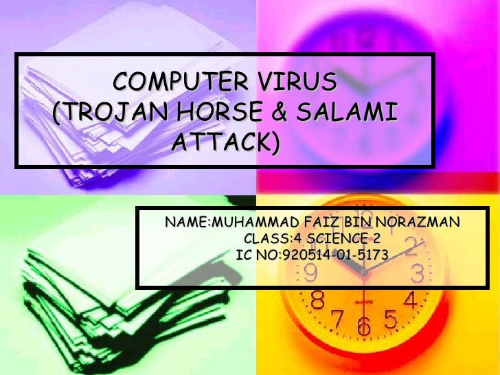 a study of computer virus attacks This case study concerns a virus or because the virus tries to attack certain we suppose that the probability of infection equals 05 for all node.