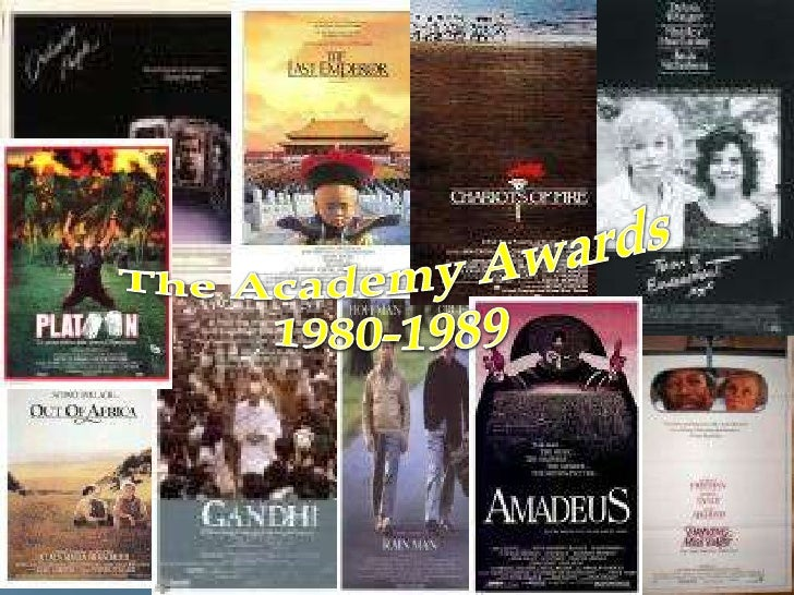 The Academy Awards<br />1980-1989<br />