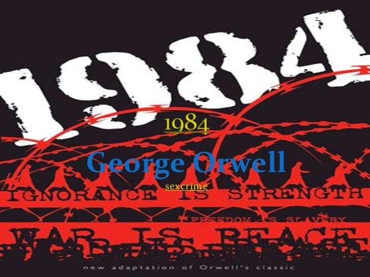George Orwell     sexcrime