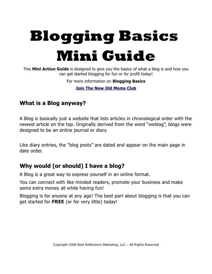 BloggingBasicsMG2