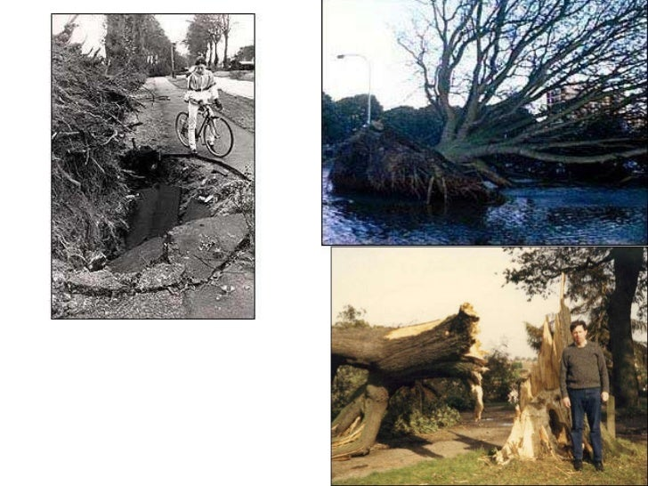 Climate: 1987 Storm in Pictures