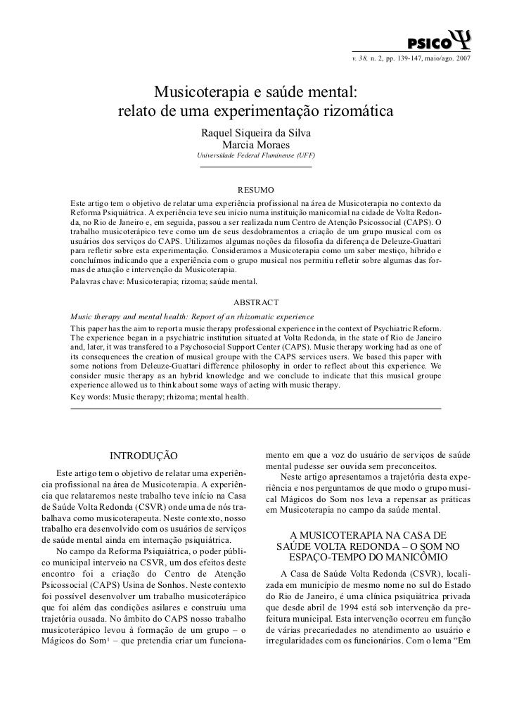 PSICO           Ψ                                                                                          v. 38, n. 2, pp...