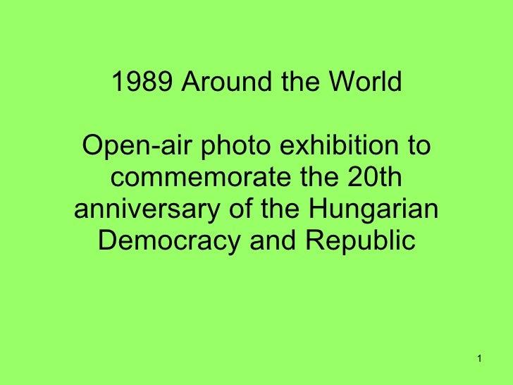 1989 Around The World