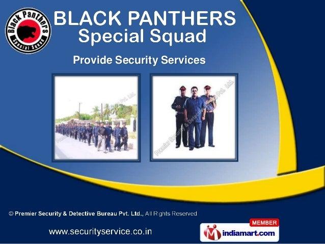 Premier Security And Detective Bureau Tamil Nadu India