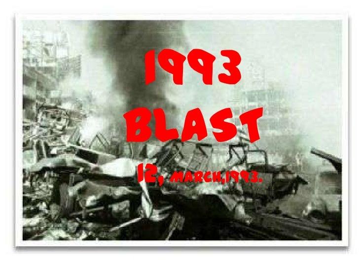 1993 BLAST <br />12, MARCH,1993.<br />