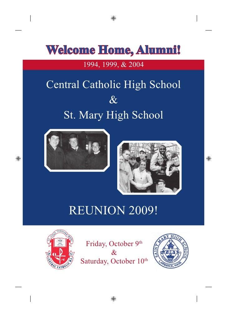 1994, 1999 & 2004 Reunion Invitation