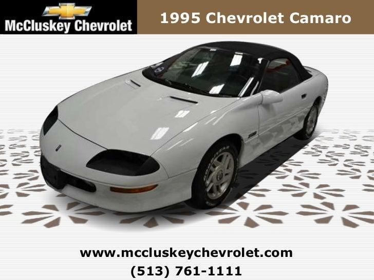1995 Chevrolet Camarowww.mccluskeychevrolet.com     (513) 761-1111