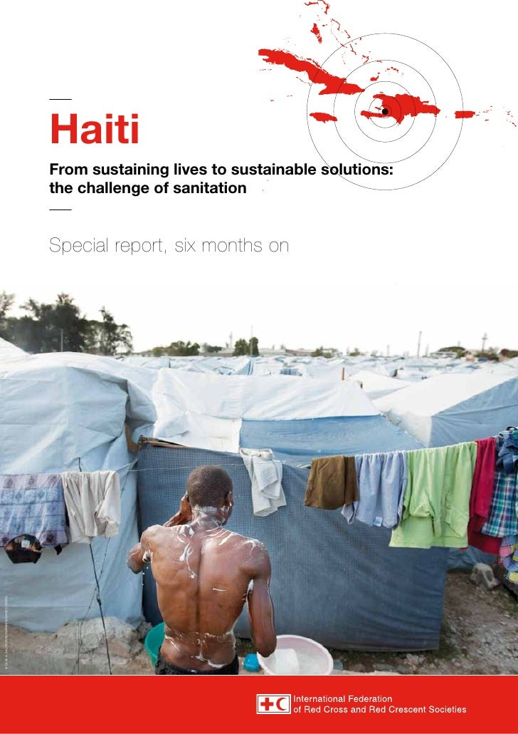 Haiti                                           From sustaining lives to sustainable solutions:                           ...