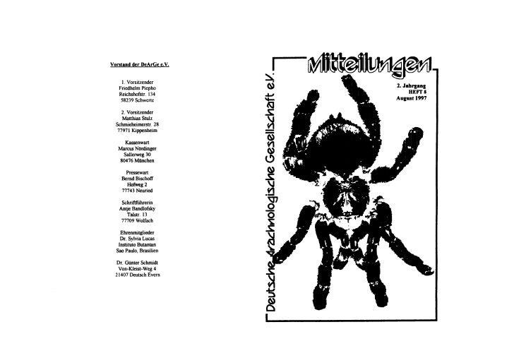 DeArGe Mitteilungen 8/1997