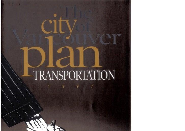 1997 Transportation Plan