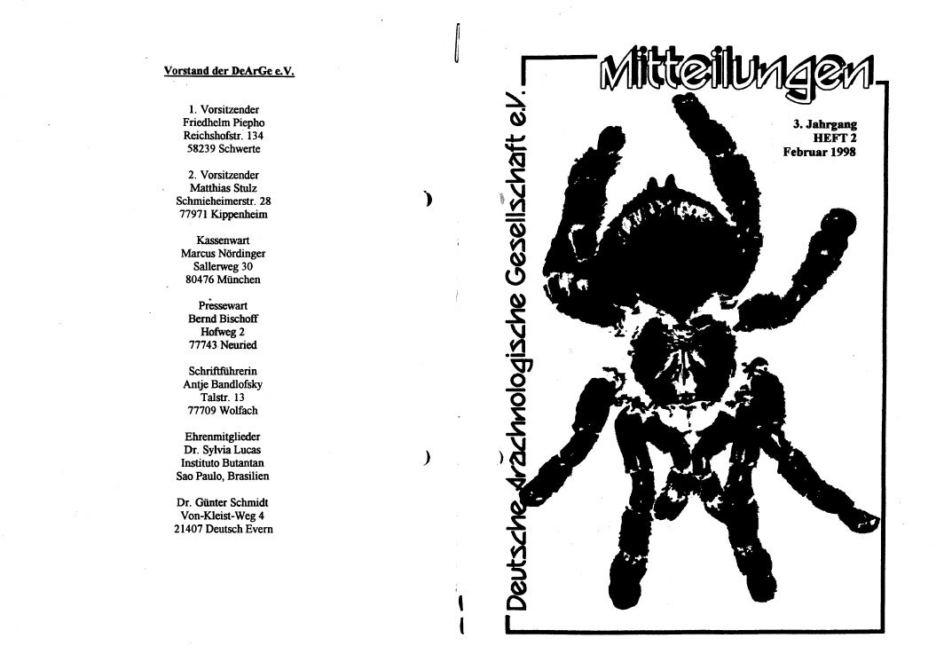 DeArGe Mitteilungen 2/1998