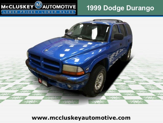 Used 1999 Dodge Durango 4WD - Cincinnati Ohio Dealer