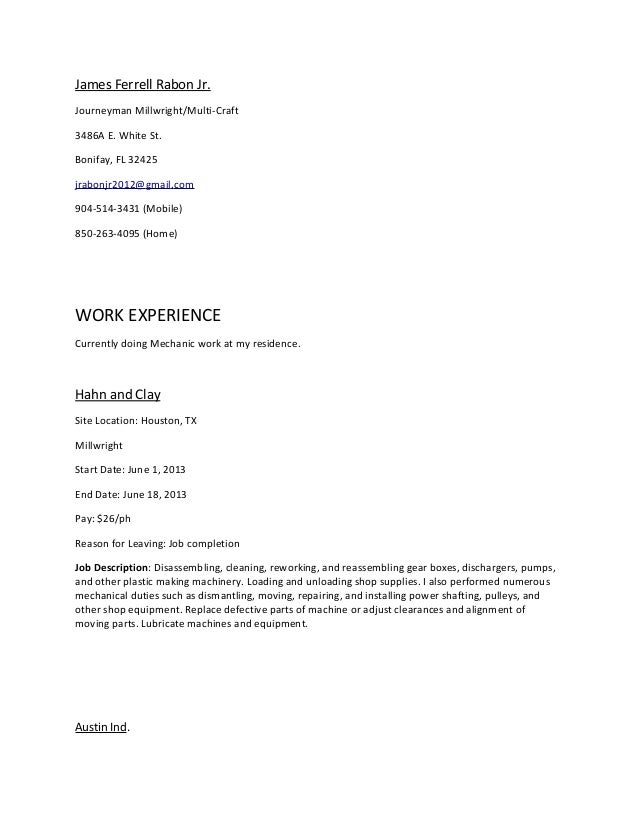 sanitation worker job description resume