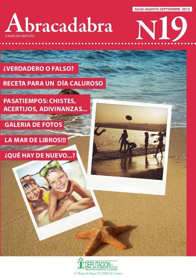 Abracadabra. Revista Infantil e Xuvenil nº 19