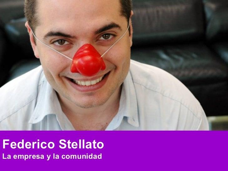 Federico Stellato La empresa y la comunidad