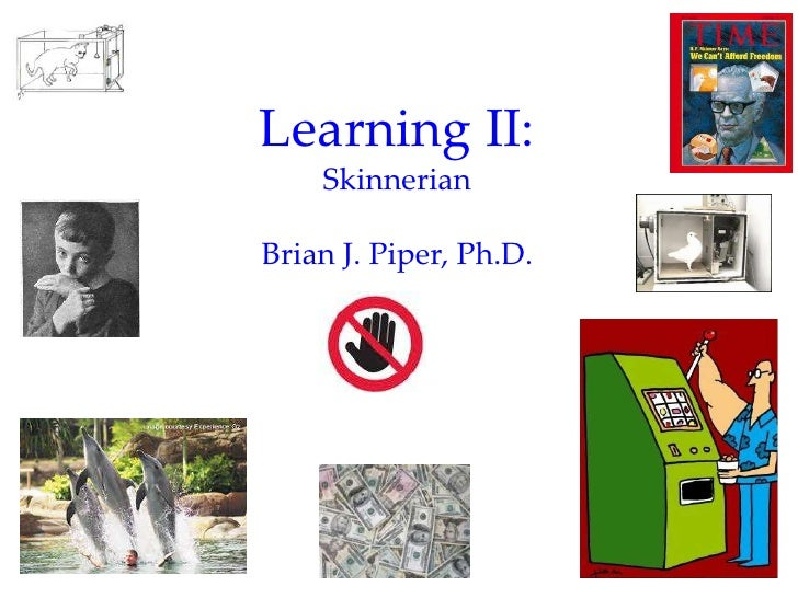 Introductory Psychology: Learning Part II (Operant)