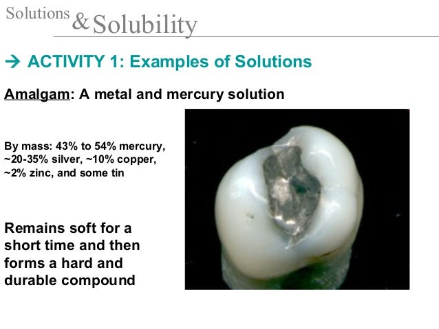 Solubility Science Examples 19 solutions and solubility