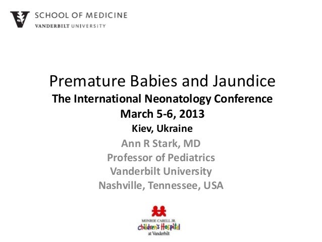 Premature Babies and Jaundice