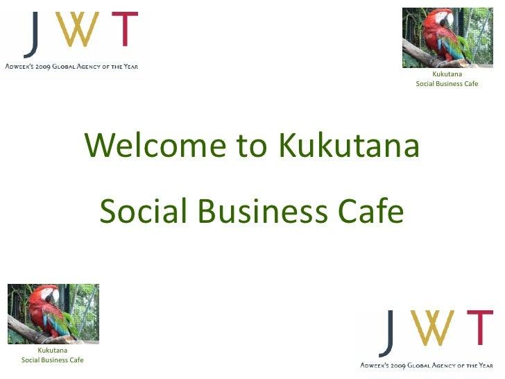 Kukutana @JWT London 19th April