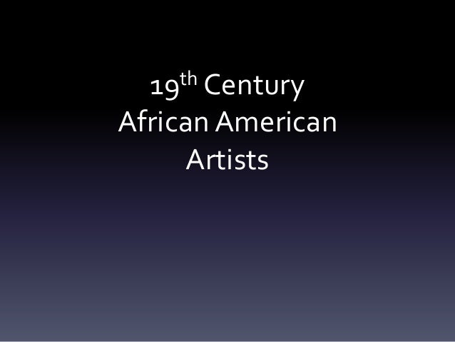 19th-Century African American Artists