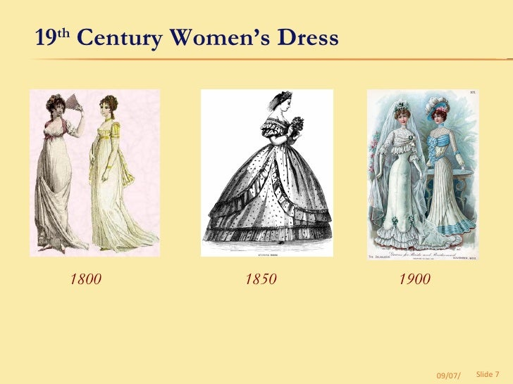 Women S Fashion Th Century
