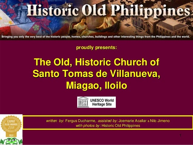 The historic Church of Santo Tomas de Villanueva, Miagao, Iloilo. A UNESCO World Heritage Site