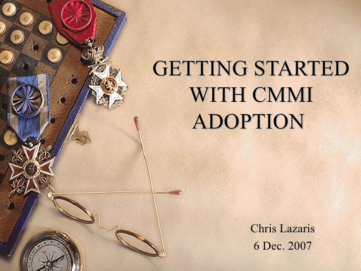 1-Getting Started With CMMI Adoption